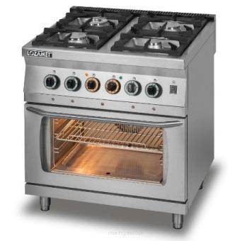 Kuchnia Gazowa 4 Palnikowa Z Piekarnikiem Elektrycznym Z