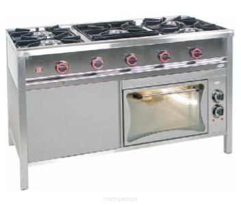Kuchnia Gazowa 5 Palnikowa Z Piekarnikiem Elektrycznym Tg 5727pke 3
