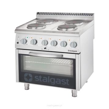 Producent Kuchnia Elektryczna 4 Polowa Z Piekarnikiem Elektrycznym