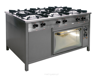 Kuchnia Gazowa 6 Palnikowa Z Piekarnikiem Elektrycznym Tg 6732pke 1
